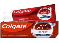 pasta dental blanqueadora colgate max white expert