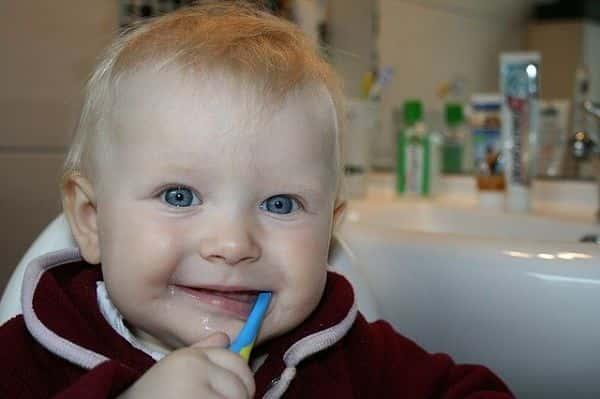 limpiar boca bebé